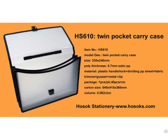 Hs610 Twin Pocket Carry Case