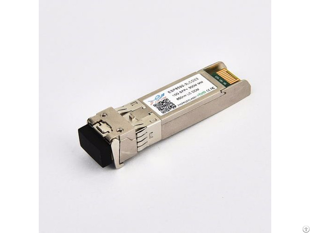 Compatible Transceiver 10g Sfp 850nm 300m Mm Optical Module