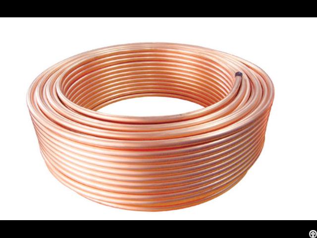 Ac Copper Pipe Tube For Air Conditioner Gas Refregirant
