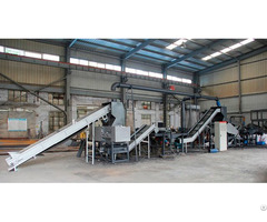 Waste Tire Grinding Plant