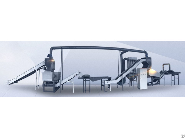 Tire Rubber Grind Recycling Machine