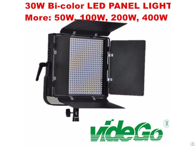 Vidego Bi Color Light Broadcast Film Shooting Kits