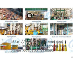 High Quality Long Working Time Palm Oil Extracting Machine