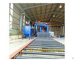 Automatic Sheet Metal Shot Blasting Machine