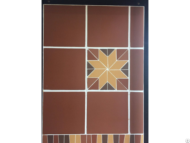 100% Natural Clay Terracotta Tile