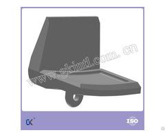 High Chromium Alloy Steel Iso Excavator Wear Bucket Heel Shroud