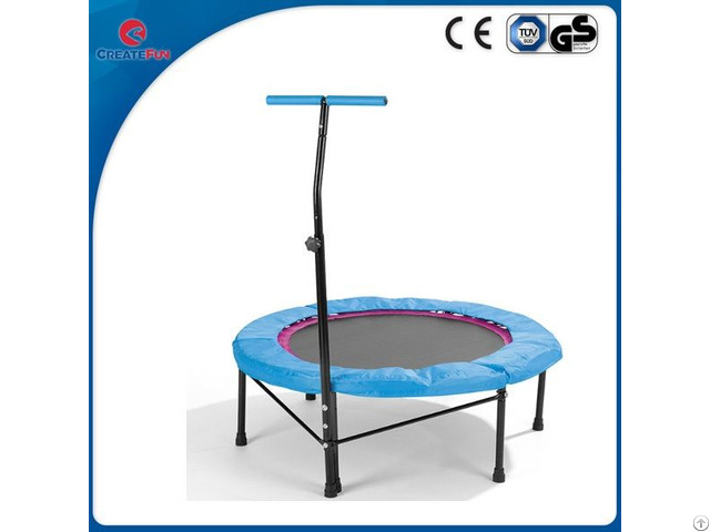 Createfun 110cm Fitness Adult Trampoline With Handle Bar