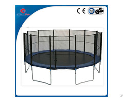 Createfun Trampoline For Backyard Outdoor Playing Jumping Bed With Net