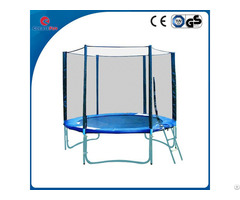Createfun 8ft Cheap Trampoline With Basketball Stand