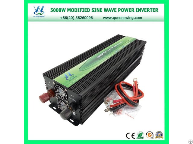 Portable 5000w Off Grid Power Inverter With Digital Display Qw M5000