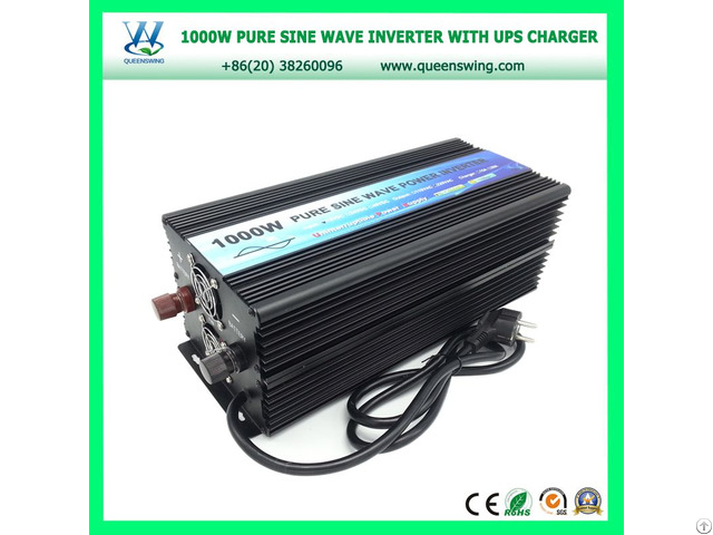 1000w Pure Sine Wave Power Inverter With Ups Charger Qw P1000ups