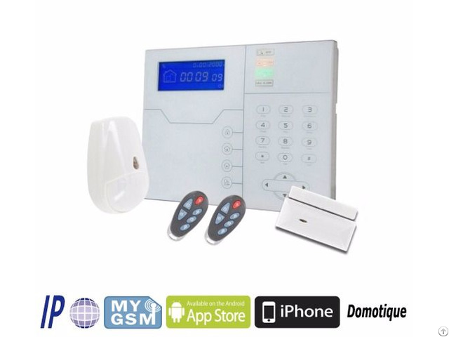 Tcp Ip Gsm Rfid Smart Home Alarm Panel