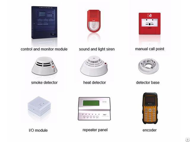 Addressable Fire Alarm Control Panel Mn300e