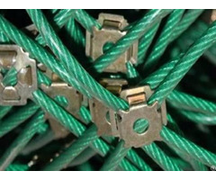 Pvc Coated Wire Rope Net