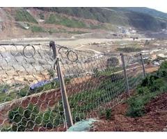Passive Rockfall Barrier System