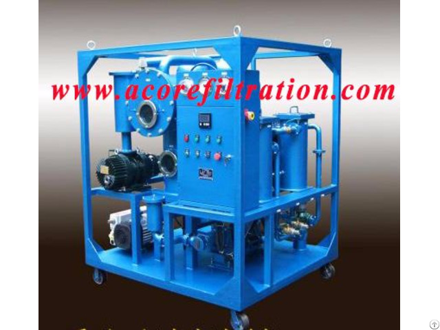 Mtp Mobile Vacuum Transformer Oil Purifier