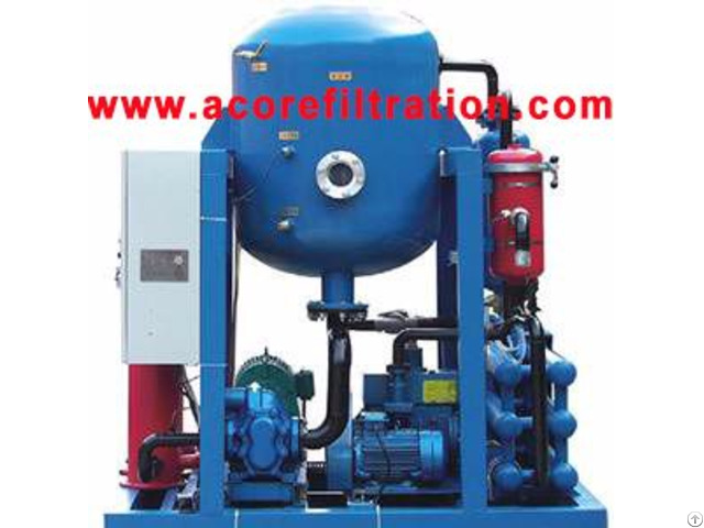 Vdf Model Vacuum Oil Dehydrator Dehydration Plant