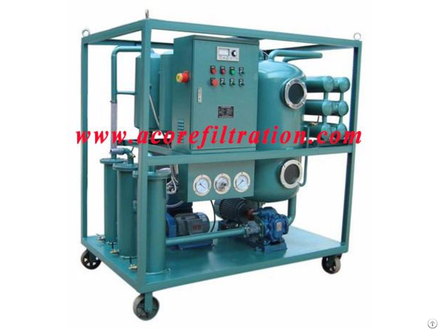 Waste Hydraulic Oil Filtration Recycling Machine