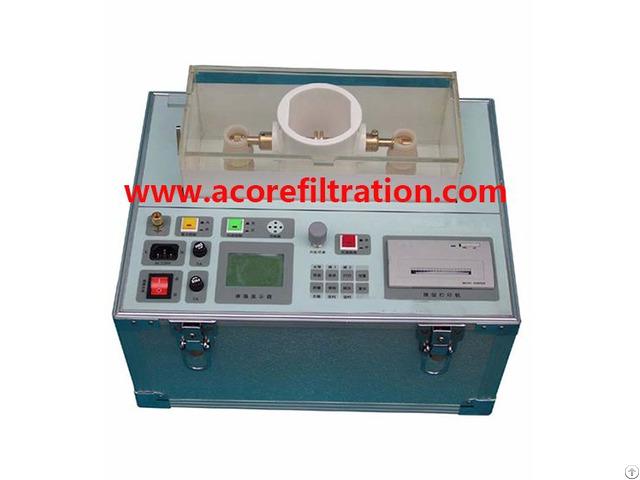 Dst Insulating Oil Breakdown Voltage Tester