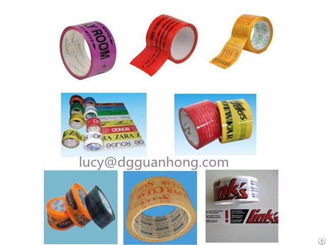 Custom Logo Printed Bopp Packaging Tape Waterproof For Cartons Sealing
