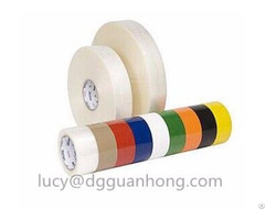 Carton Sealing Bopp Self Adhesive Tape Sliver With Company Logo