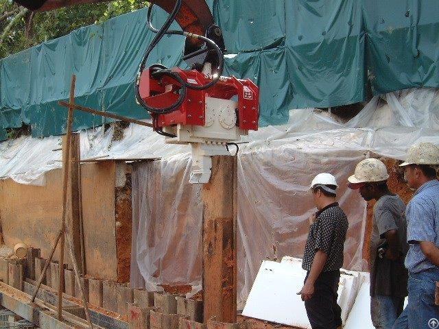 Used Vibro Hammer Ovr 40s Excavator Mounted