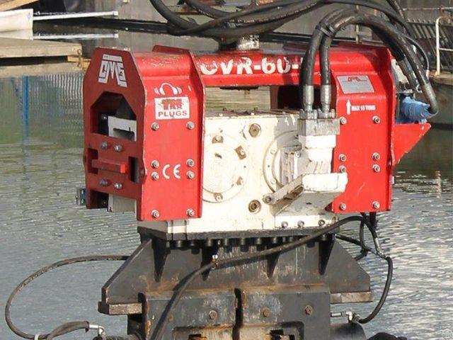 Ovr 60s Used Vibro Hammer Excavator Mounted
