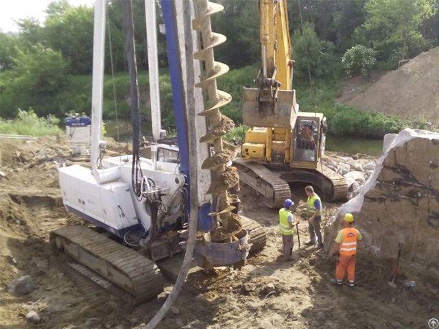 Used Piling Drilling Rig Casagrande B 425 Cfa