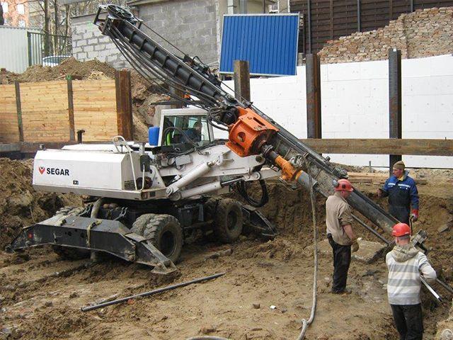 Used Piling Drilling Rig Abi Mobilram Tm 8 10