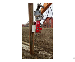 Vibro Hammer Ovr 70sg To Work On A Crane