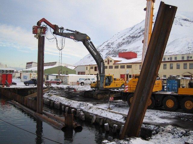Vibro Hammer Ovr S 40 Excavator Mounted