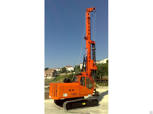 New Piling Drilling Rig Tescar Cf4