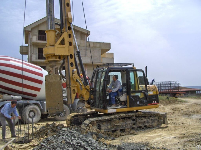 New Piling Drilling Rig Tescar Cf6