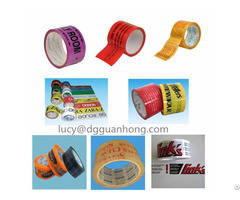 Personal Custom Printed Bopp Adhesive Packing Tape With Company Logo And Webstie