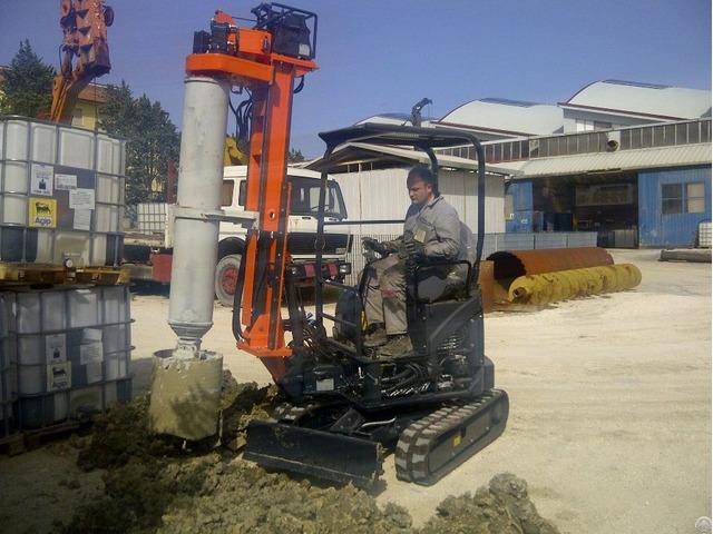New Piling Drilling Rig Tescar Cf1