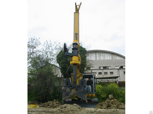 New Piling Drilling Rig Tescar Cf3 Dw