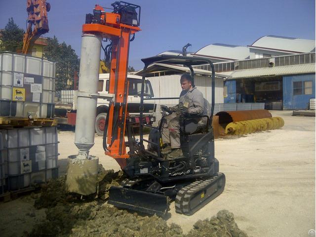 Tescar Cf1 New Piling Drilling Rig
