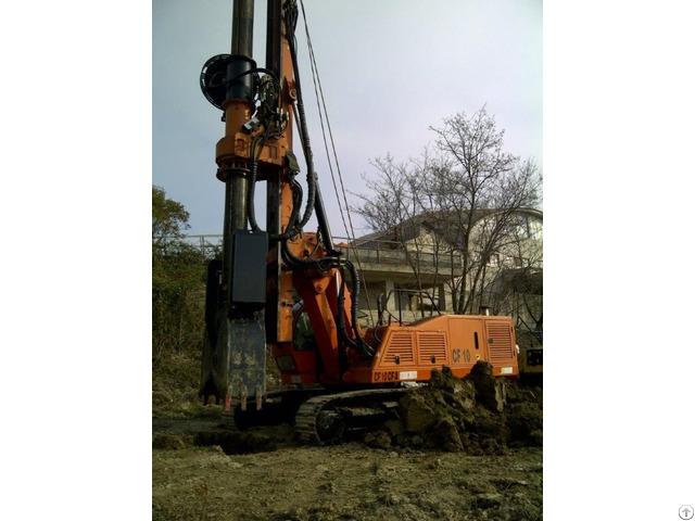 New Piling Drilling Rig Tescar Cf8 Dw