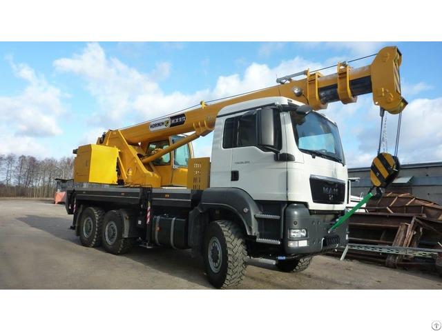 Mobile Crane Hidrokon Hk 30 18 T2 10 Ton
