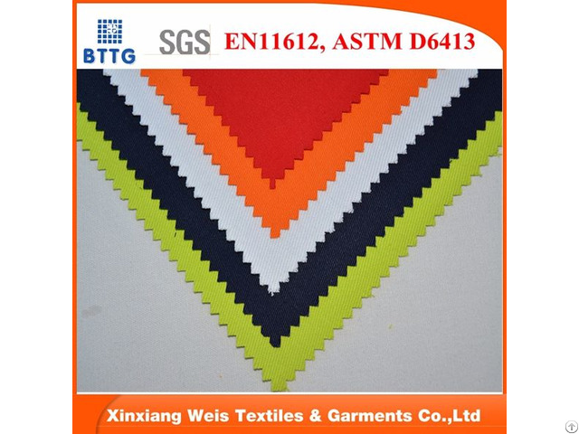 Fire Proof Aramid Fabric For Safety Workwear