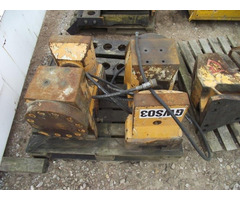 Pve 2 X 100t Used Clamp For Open Piles