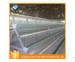 High Quality Electro Galvanzied Poultry Layer Cage For Sale In Nigeria