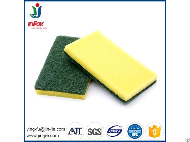 Kitchen Sponge For Washing Dishes Scourer