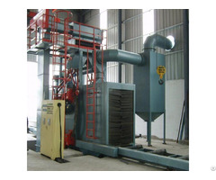 Roller Conveyor Shot Blasting Machine Continuous