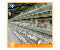 Poultry Layer Farming Equipment Chicken Battery Cages For Zimbabwe Farms