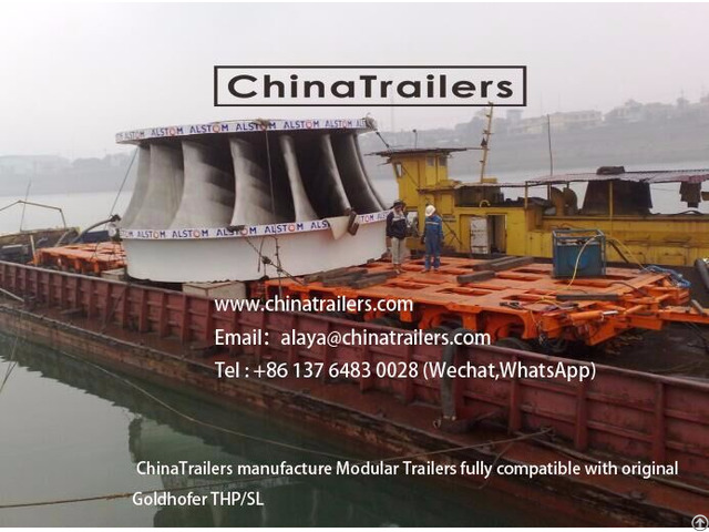 Goldhofer Thp Sl Model Transporters Manufactured By Chinatrailers For Sale