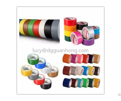Natural Rubber Adhesive Cloth Duct Tape White Color