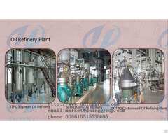 General Analysis Of Edible Oil Refining Technology