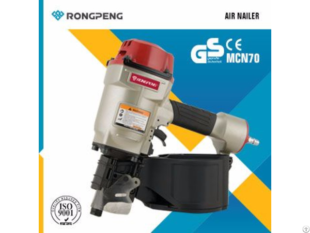 Rongpeng Coil Roofing Nailer Mcn70