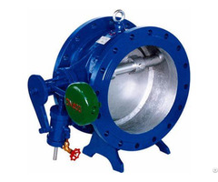 Tilting Disc Check Valve With Counterweight Arm